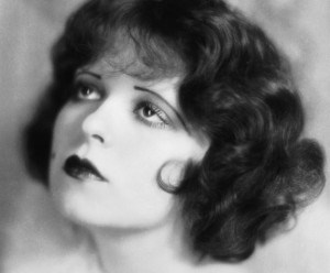 "Clara Bow. the original ""It"" girl had 1920's style with typical hair and brows."