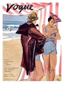 July 1934 Carl Erikson Vogue Cover