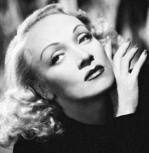 Sultry Marlene Dietrich had 1930's appeal.