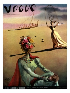 Salvador Dali Vogue Cover June 1939